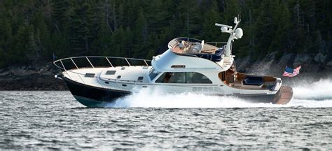 Hinckley Yachts President by Lets Some Trawler Forum
