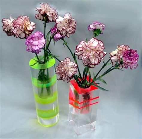 vasi in plexiglass accessori in plexiglas poliedrica s r l arredamento e
