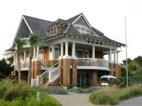 Coastal Home Plans On Pilings Pictures by House Plans With Porches House Plans On