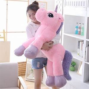 Riesen Einhorn Stofftier : giant stuffed unicorn soft plush toy way up gifts ~ Eleganceandgraceweddings.com Haus und Dekorationen
