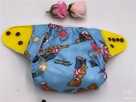 Lokey Star Cloth Diaper Babies Washable Baby Diapers