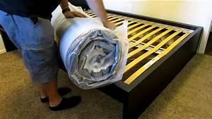 Ikea Matratze Morgedal : how to unpack an ikea morgedal mattress youtube ~ Yasmunasinghe.com Haus und Dekorationen