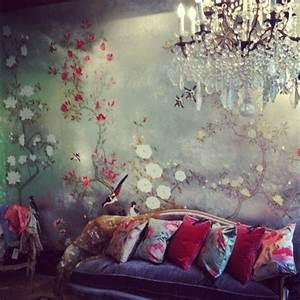 la deco chambre romantique 65 idees originales With tapis chambre bébé avec bac fleur interieur