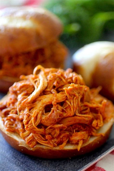 Crock Pot Pulled BBQ Chicken