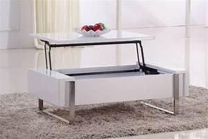 Table De Salon Modulable : table basse rehaussable table salle a manger avec rallonge maisonjoffrois ~ Teatrodelosmanantiales.com Idées de Décoration