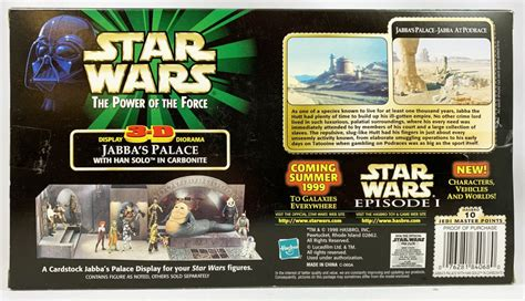 Star Wars (The Power of the Force) - Hasbro - Jabba's ...