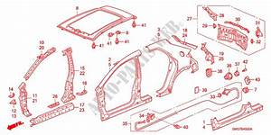 Outer Panels  Rear Panel For Honda Cars Civic 1 4 Comfort 5