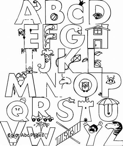 Coloring Alphabet Pages Disney Pdf Printable Getcolorings