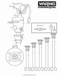 Waring Blender Parts Diagram