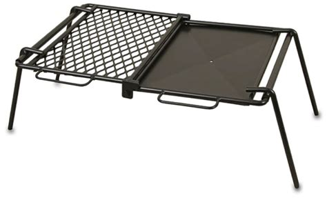 campfire folding flat plate grill cooker snowys outdoors