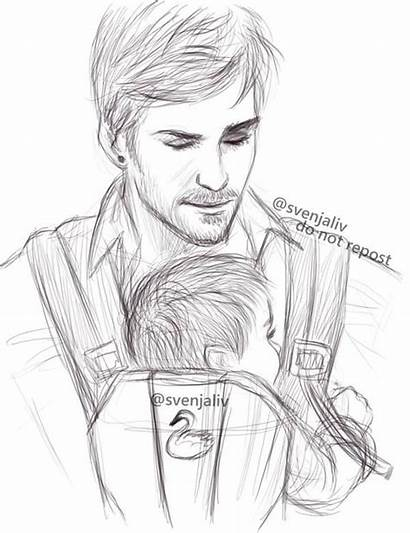 Sketch Killian Ouat Captain Messy Quick Very