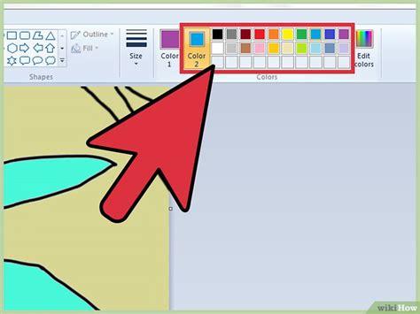 kleuren vervangen in ms paint wikihow
