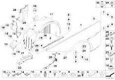 Original Parts For E63 645ci N62 Coupe    Bodywork   Front
