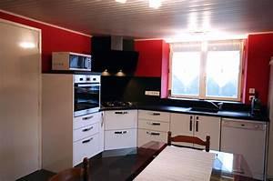 cuisine integree deluxe blanc With cuisine avec plaque de cuisson en angle