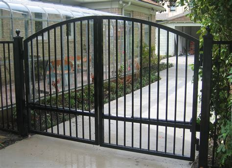 swing gate auto swing gates cowboy fence and iron
