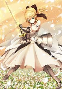 Saber Lily - Saber (Fate/stay night) - Mobile Wallpaper ...
