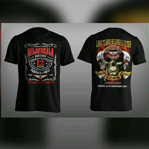 jual kaos t shirt bikers anniversary suzuki thunder bandung family btf support motor club not