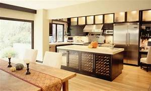 ilot central cuisine ikea et autres l39espace de cuisson With grand ilot de cuisine