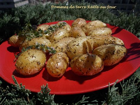 cuisiner la ratte pommes de terre ratte au four croquant fondant gourmand