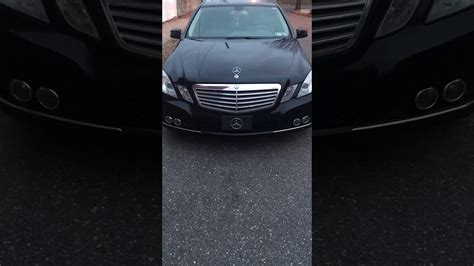 Low road noise and good sound system. 2010 Mercedes E350 unlock sound - YouTube