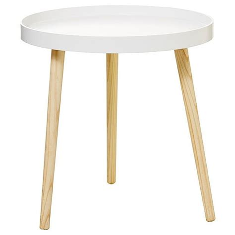 target bedside tables round side tray table white target australia 13445   A978964