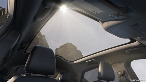 ford mustang mach  electric suv panoramic roof