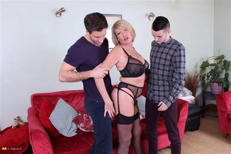 two horny dudes doing a very naughty british housewife at mature sex pictures