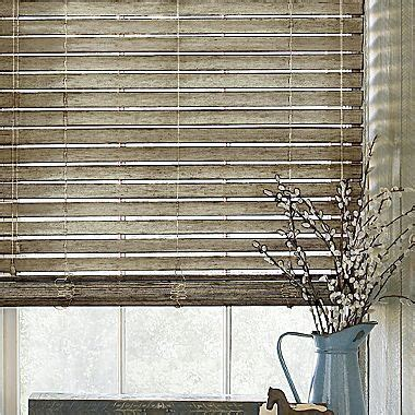 custom  distressed wood blind jcpenney window