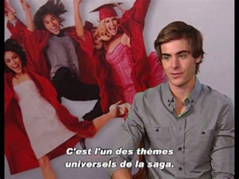 Zac Efron interview in France - YouTube