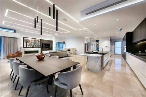 Led Deckenbeleuchtung  Luxuriöses Einfamilienhaus In