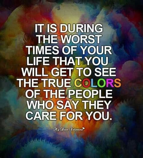 true colors quotes quotes about seeing someones true colors quotesgram