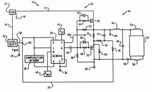 patent us6218788 floating ic driven dimming ballast With smart ballast control ic for fluorescent lamp ballasts schematic