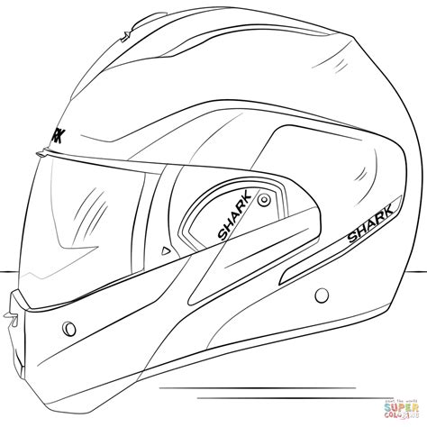 Bike Helmet Coloring Page Delectable Bicycle Safety