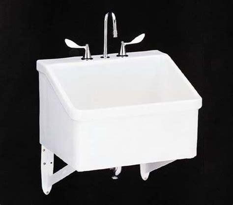 kohler    hollister utility sink   hole
