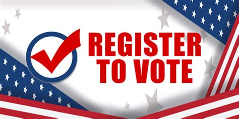 Last Day to Register to Vote for November Election – The ...