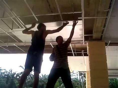 instalasi shunda plafon  merta jaya steel