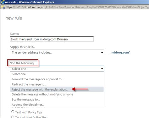 Office 365 Mail Footer by Dealing With Spam Mail In Office 365 Server Side