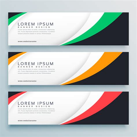 abstract web banner  header design template   vector art stock graphics images