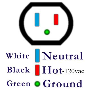 Ac Wiring Black White by Power Child Safe Setup For Esd Protection Environment On