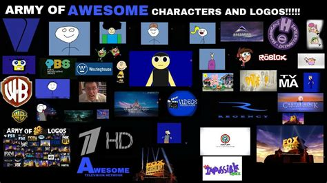 Army of Awesome Characters and Logos!!!!! by ...