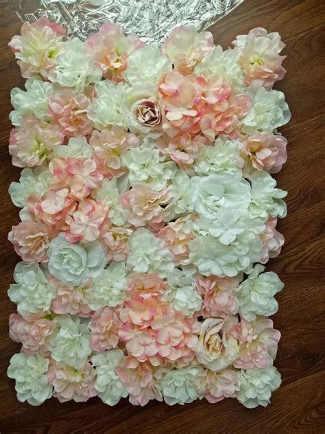 New Arrival Artifical Silk Rose Hydrangea Flower Walls