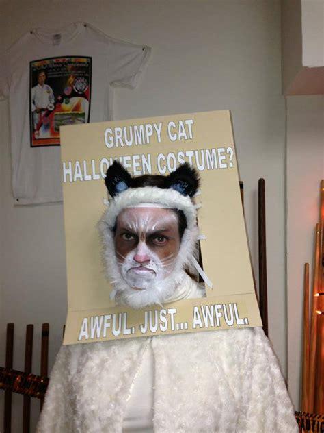 Costume Meme - grumpy cat halloween costume grumpy cat is not impressed grumpy cat know your meme