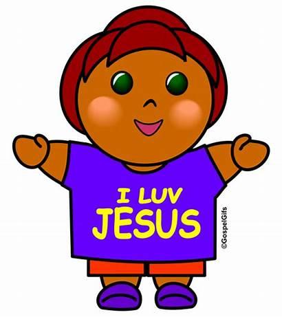 Christian Clip Clipart Jesus Religious Cliparts Child