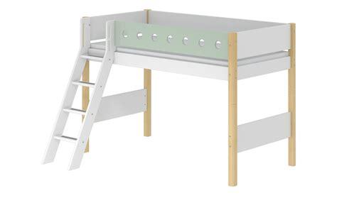 Flexa Mittelhohes Bett Mit Leiter Flexa White Breite 159