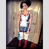 Homemade Broken Doll Costume | 508 x 677 jpeg 52kB