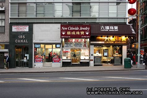 york city chinatown storefronts canal street