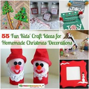 55 Fun Kids Craft Ideas for Homemade Christmas