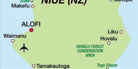 Map of Niue (Island in New Zealand) | Welt-Atlas.de