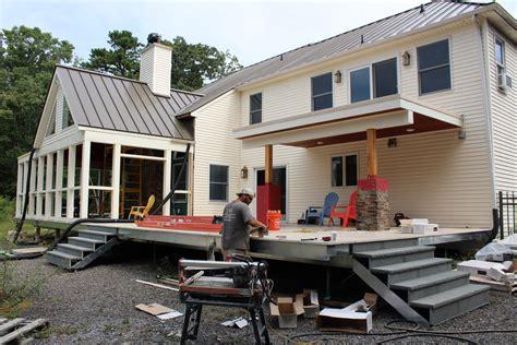 Building A Multilevel Deck