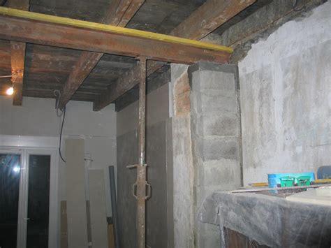poutre pour soutenir  plafond